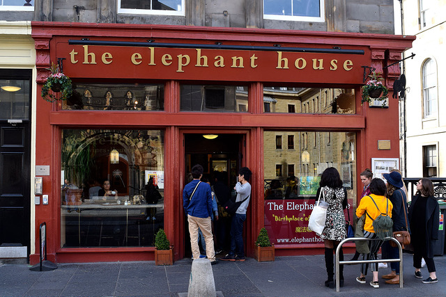 The Elephant House, Edinburgh   www.rachelphipps.com @rachelphipps