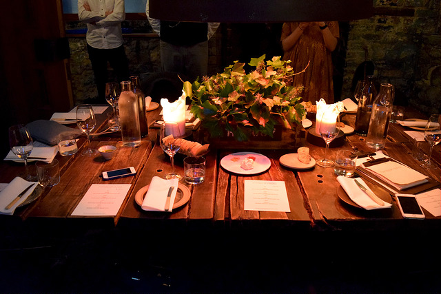 Table Setting at Timberyard, Edinburgh | www.rachelphipps.com @rachelphipps