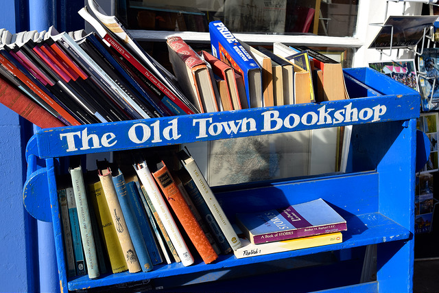 Old Town Bookshop, Edinburgh   www.rachelphipps.com @rachelphipps