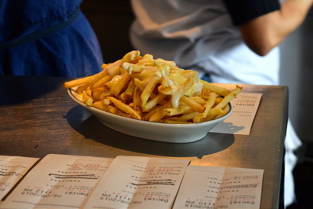 Fries at Petit Trois, Hollywood