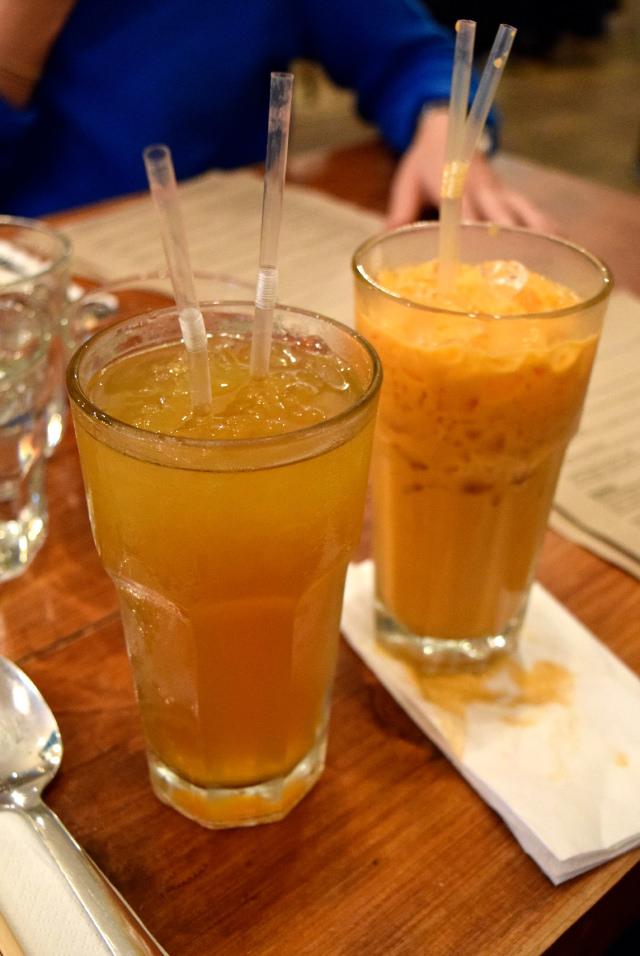 Asian Iced Teas at KIN, Clerkenwell | www.rachelphipps.com @rachelphipps
