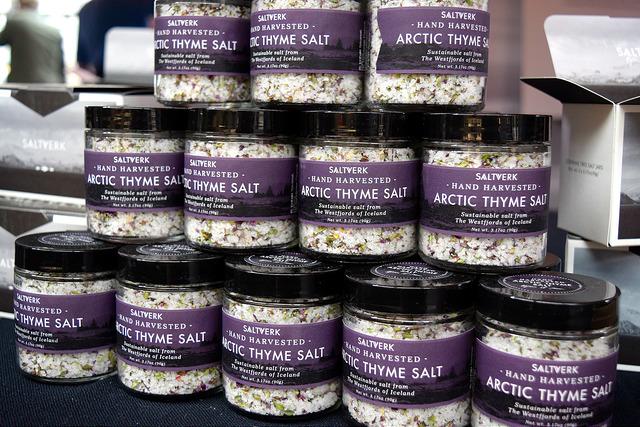 Thyme Salt at The Icelandic Pantry, Borough Market | www.rachelphipps.com @rachelphipps