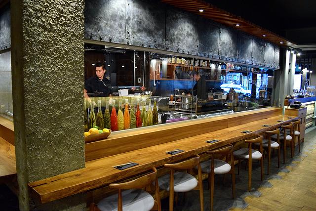 Kitchen at Murakami, Covent Garden | www.rachelphipps.com @rachelphipps