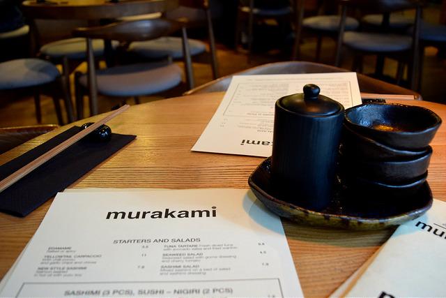Menus at Murakami, Covent Garden | www.rachelphipps.com @rachelphipps