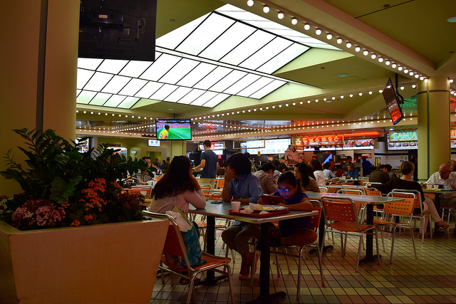 Koreatown Plaza Food Court, Los Angeles | www.rachelphipps.com @rachelphipps