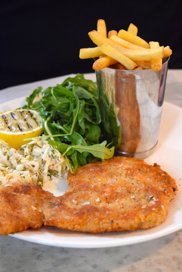 Chicken Shnitzel at No. 11 Pimlico Road, London | www.rachelphipps.com @rachelphipps