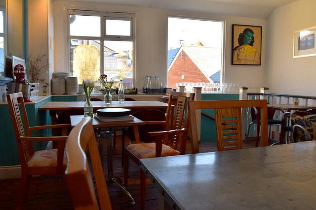 Upstairs at Pop Up Cafe, Deal | www.rachelphipps.com @rachelphipps