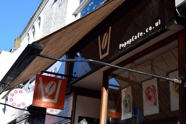 Pop Up Cafe in Deal | www.rachelphipps.com @rachelphipps