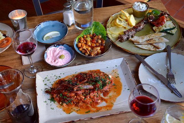 Lunch at Zeus, Canterbury | www.rachelphipps.com @rachelphipps