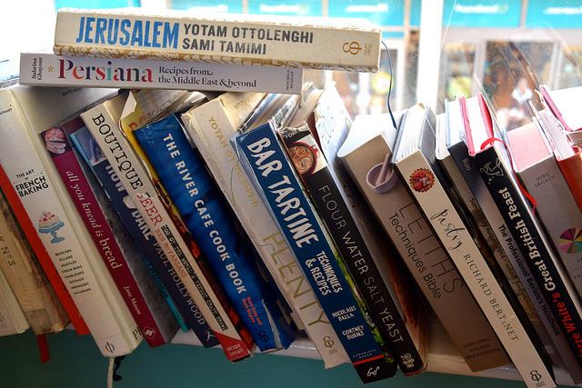 Cookbooks at Pop Up Cafe, Deal | www.rachelphipps.com @rachelphipps