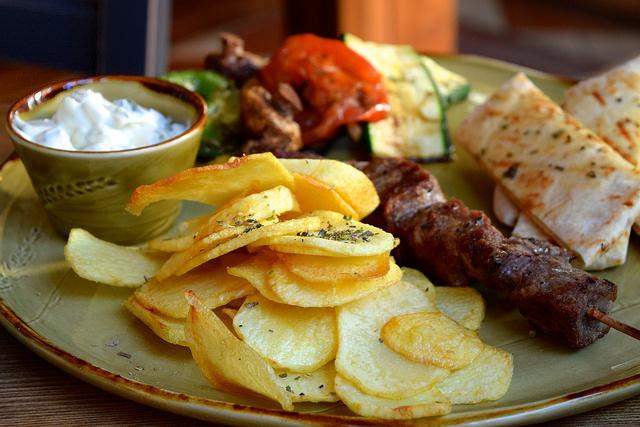 Lunch Plate at Zeus, Canterbury | www.rachelphipps.com @rachelphipps