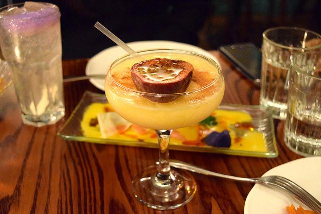 Thor's Passion Cocktail at Ceviche, Soho | www.rachelphipps.com @rachelphipps