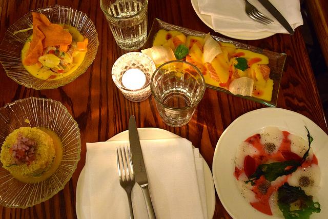 After Work Dinner at Ceviche Soho | www.rachelphipps.com @rachelphipps