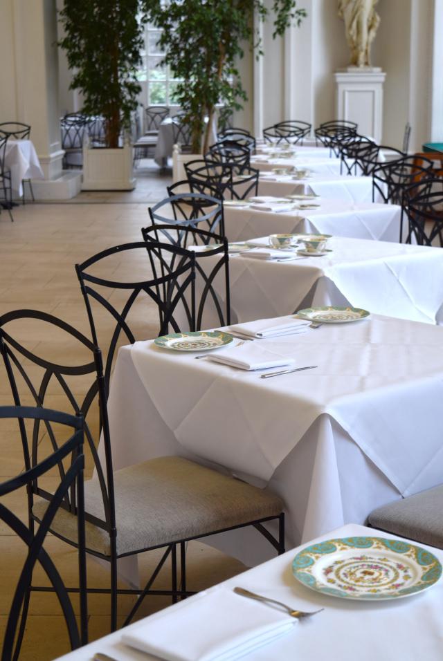 Dining Room at The Orangery, Kensington | www.rachelphipps.com @rachelphipps