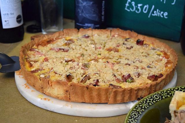 Rhubarb & Custard Pie at Paramour Pie Club, Deal | www.rachelphipps.com @rachelphipps