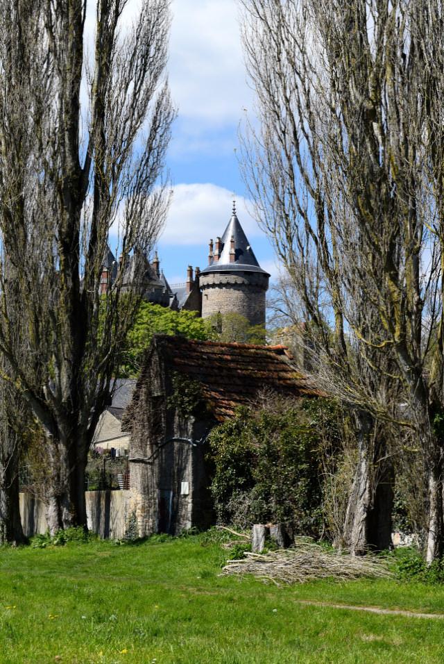 Combourg Castle, Brittany | www.rachelphipps.com @rachelphipps