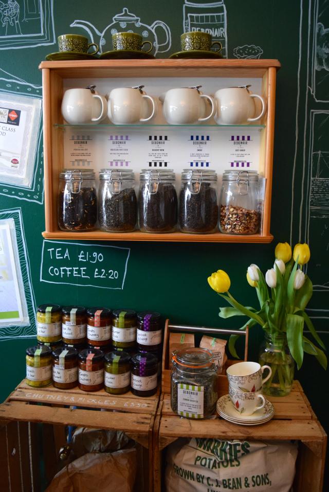 Tea at Paramour Pie Club, Deal | www.rachelphipps.com @rachelphipps