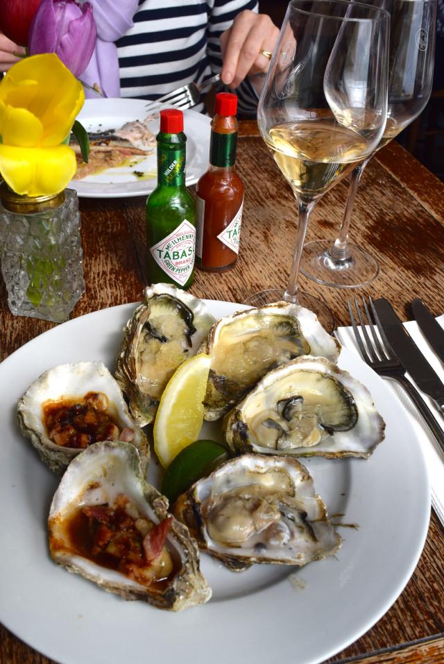 Whitstable Oyster Platter at Wyatt and Jones, Broadstairs   www.rachelphipps.com @rachelphipps