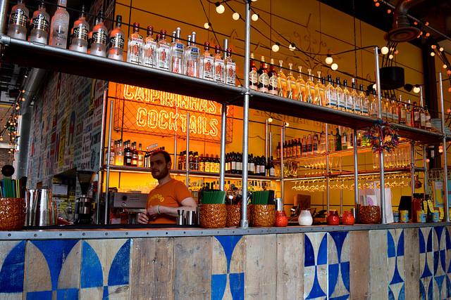 Bar at Cabana, Covent Garden | www.rachelphipps.com @rachelphipps