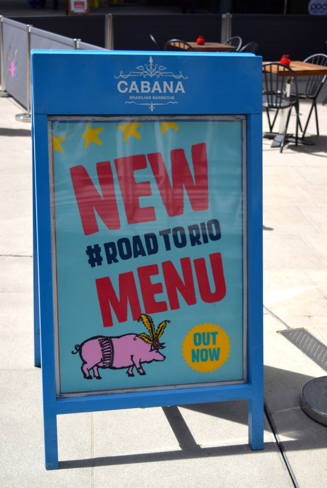 New Road To Rio Menu at Cabana, Covent Garden | www.rachelphipps.com @rachelphipps