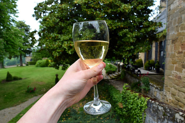 Afternoon Wine at Chateau de Lissac | www.rachelphipps.com @rachelphipps
