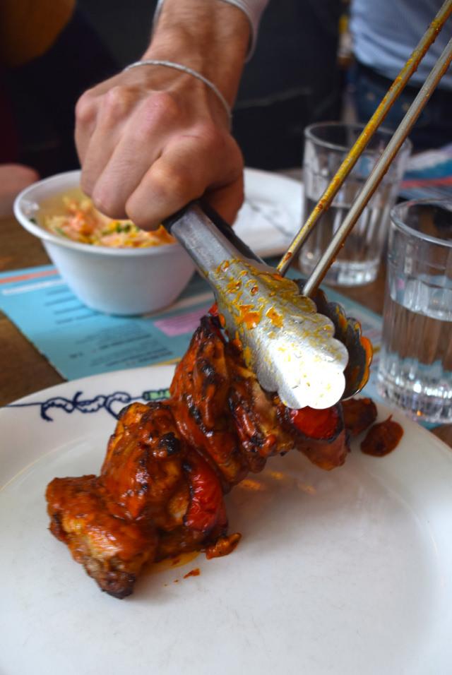 Chicken Skewers at Cabana, Covent Garden | www.rachelphipps.com @rachelphipps