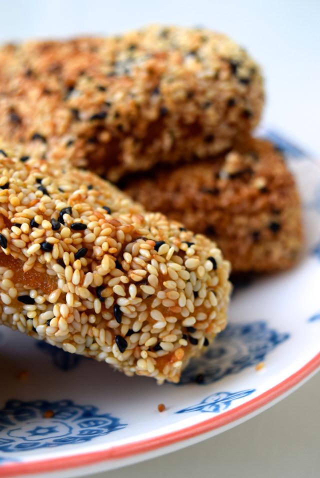 Sesame Prawn Toasts | www.rachelphipps.com @rachelphipps