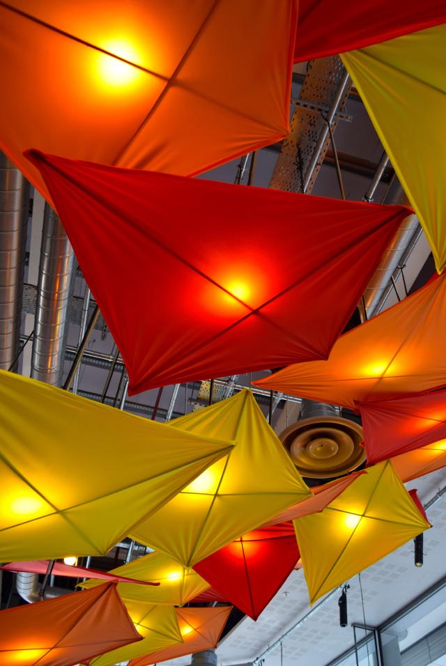 Ceiling Kites at Cabana, Covent Garden | www.rachelphipps.com @rachelphipps
