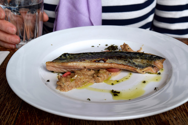 Mackerel Starter at Wyatt and Jones, Broadstairs | www.rachelphipps.com @rachelphipps