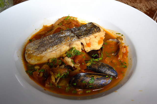 Hake Bouillebaise at Wyatt and Jones, Broadstairs | www.rachelphipps.com @rachelphipps