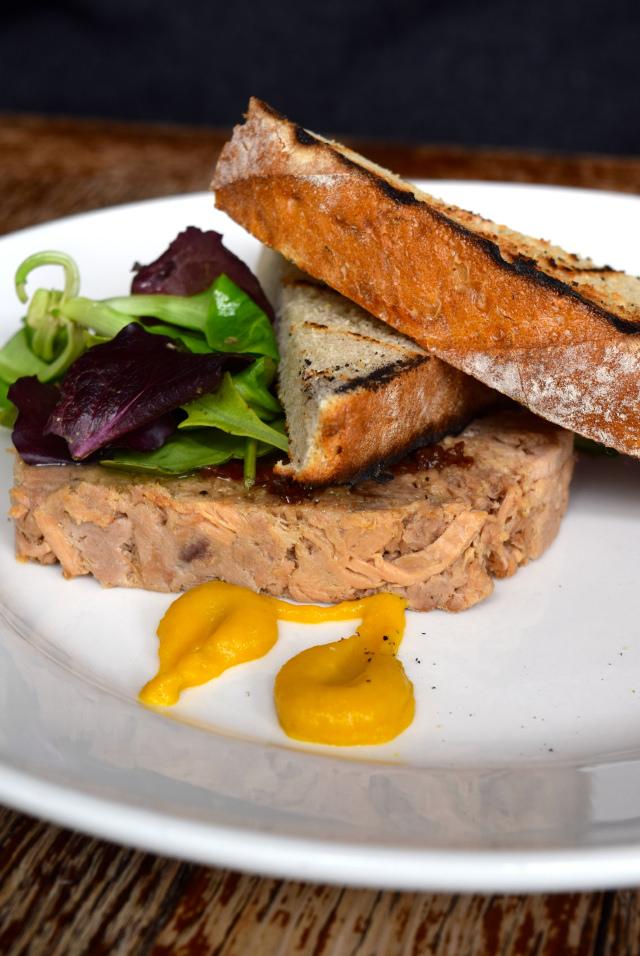 Pork Terrine at Wyatt and Jones, Broadstairs   www.rachelphipps.com @rachelphipps