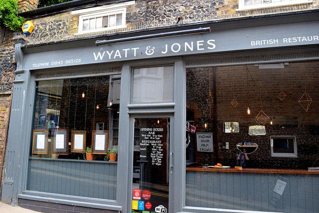 Wyatt and Jones, Broadstairs   www.rachelphipps.com @rachelphipps