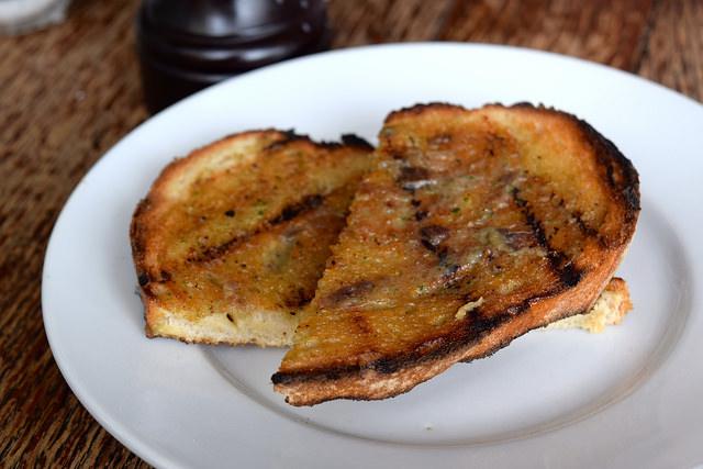 Anchovy Toast at Wyatt and Jones, Broadstairs   www.rachelphipps.com @rachelphipps