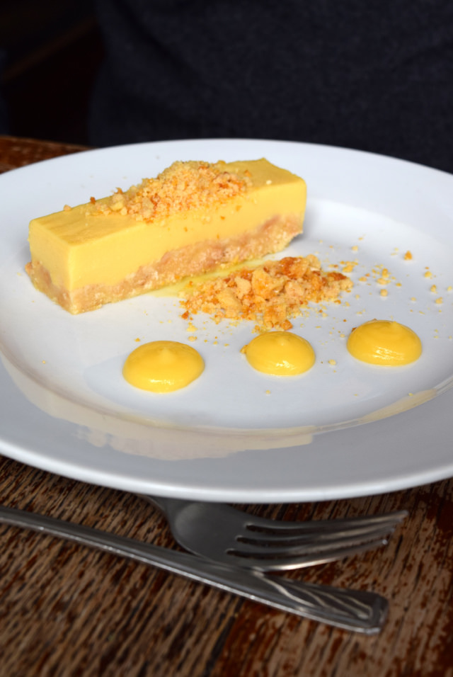 Passionfruit Set Custard with Honeycomb at Wyatt and Jones, Broadstairs | www.rachelphipps.com @rachelphipps