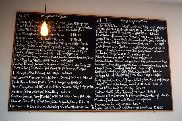 Wine List at Wyatt and Jones, Broadstairs   www.rachelphipps.com @rachelphipps