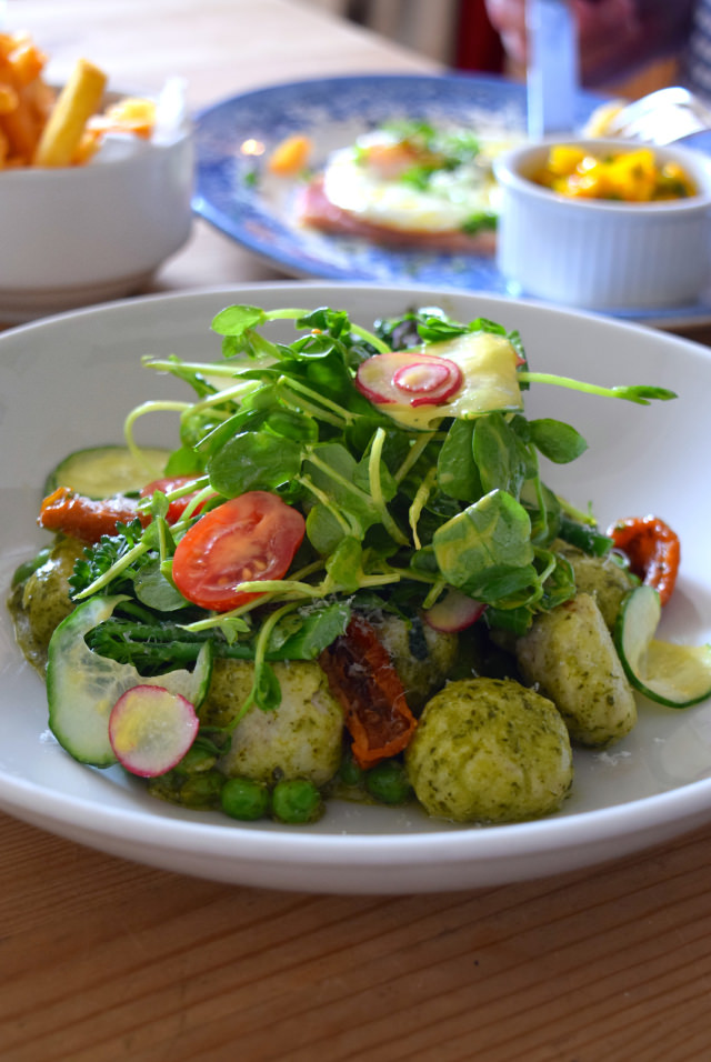 Ricotta & Parmesan Gnocchi at The Duck Inn, Pett Bottom | www.rachelphipps.com @rachelphipps