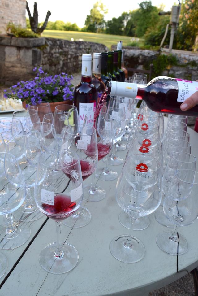 Wine Tasting at Manoir de Malagorse   www.rachelphipps.com @rachelphipps