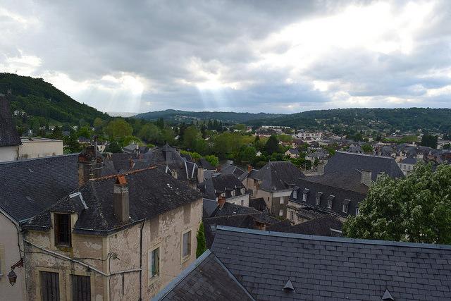 View of Terrasson, Aquitane | www.rachelphipps.com @rachelphipps
