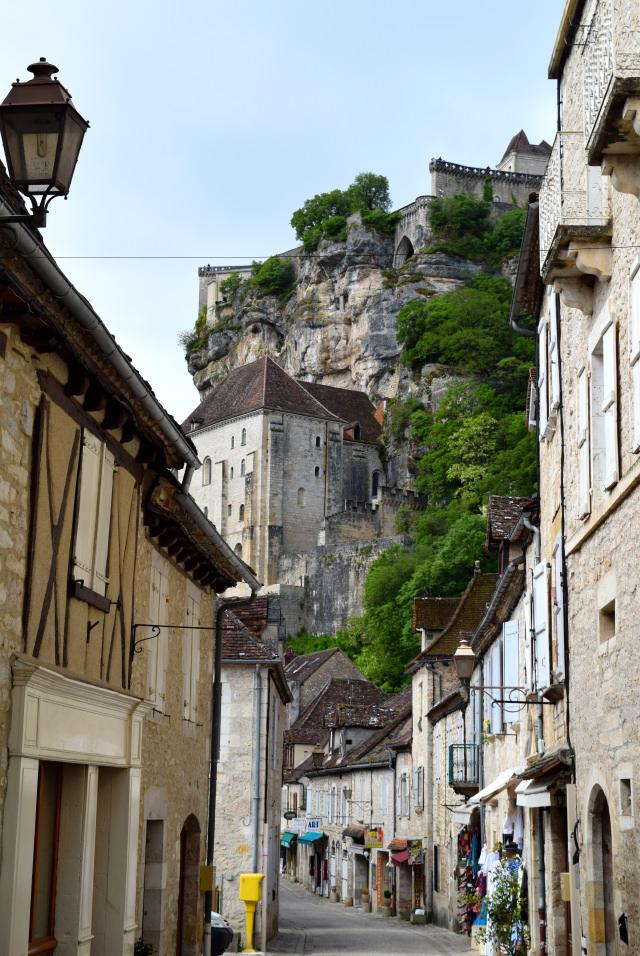 Streets of Rocamadour, Dordogne Valley | www.rachelphipps.com @rachelphipps