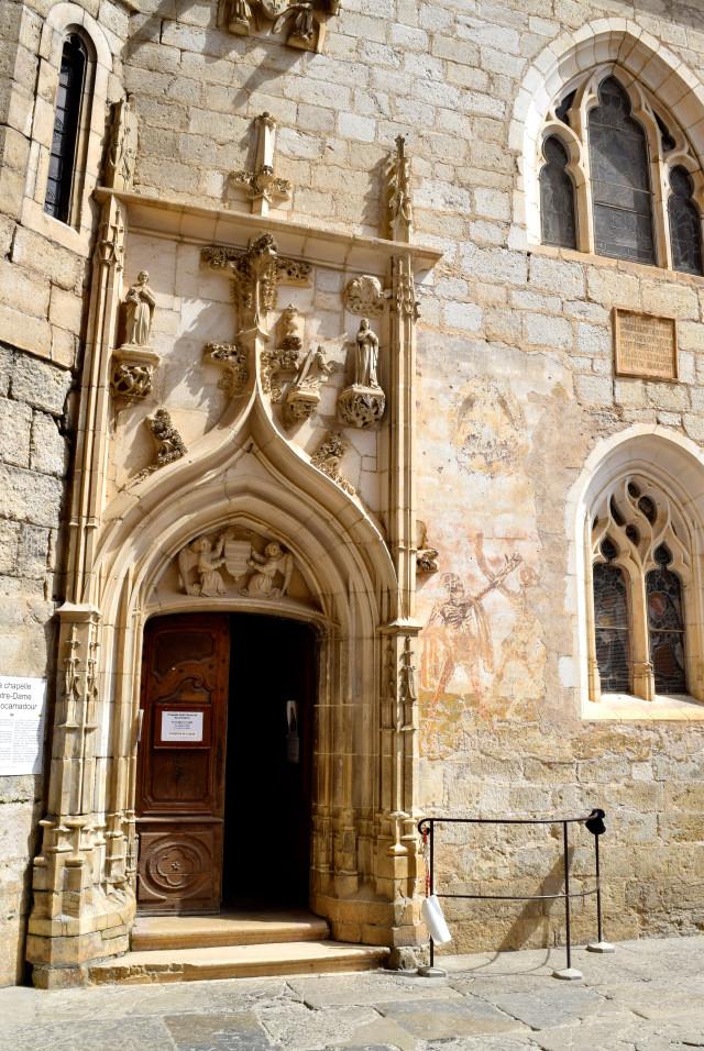 Sacred Chapel at Rocamadour | www.rachelphipps.com @rachelphipps