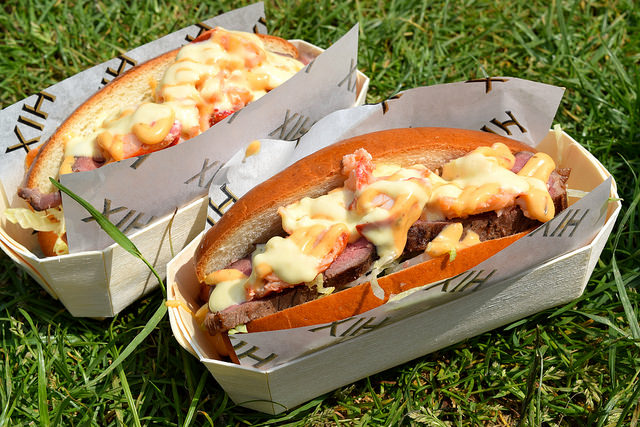 Hix Steak & Lobster Rolls at Polo in the Park | www.rachelphipps.com @rachelphipps