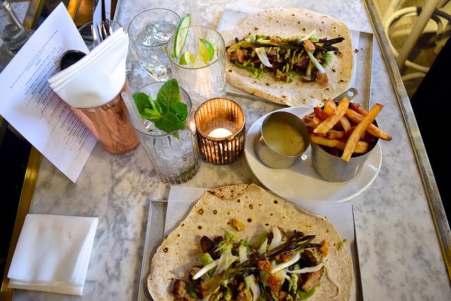 Dinner at Le Bab, Soho   www.rachelphipps.com @rachelphipps