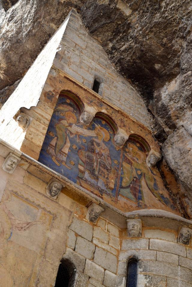 Preserved Fresco at Rocamadour | www.rachelphipps.com @rachelphipps