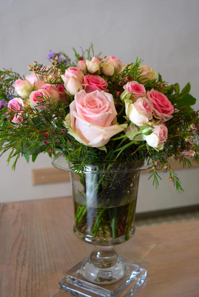 Roses at Chateau de la Treyne | www.rachelphipps.com @rachelphipps
