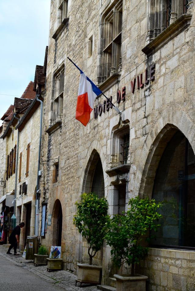 Hotel de Ville in Rocamadour, Dordogne Valley | www.rachelphipps.com @rachelphipps