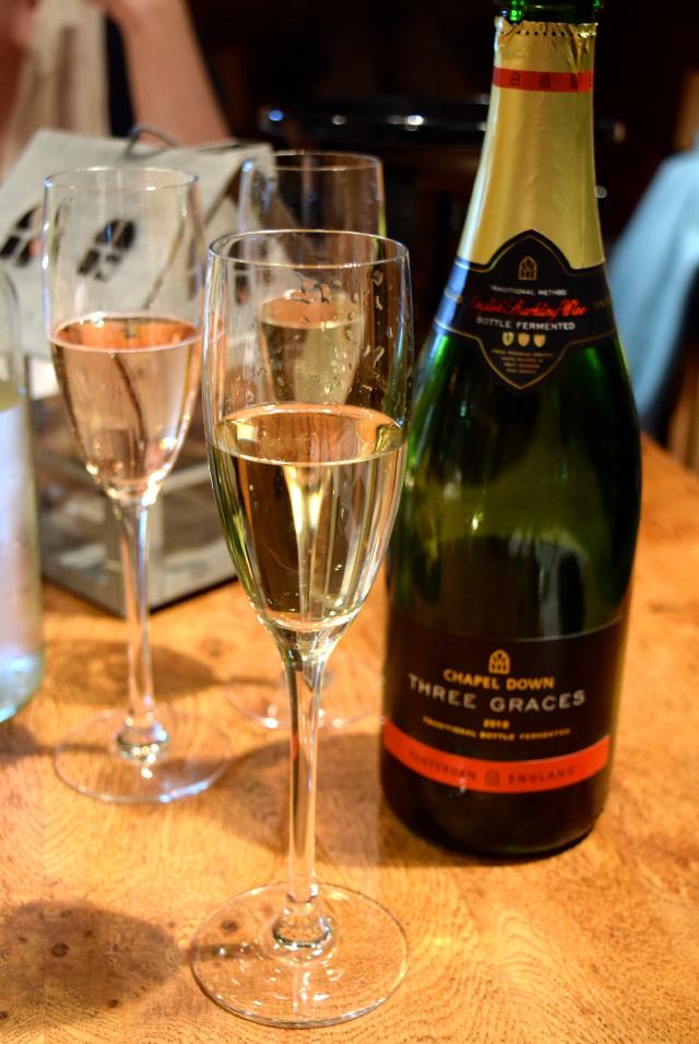 Three Graces English Sparkling Wine at Chapel Down Vineyard | www.rachelphipps.com @rachelphipps