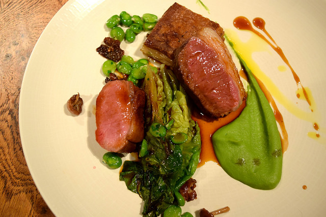 Romney Marsh Lamb at The Swan, Chapel Down Vineyard | www.rachelphipps.com @rachelphipps