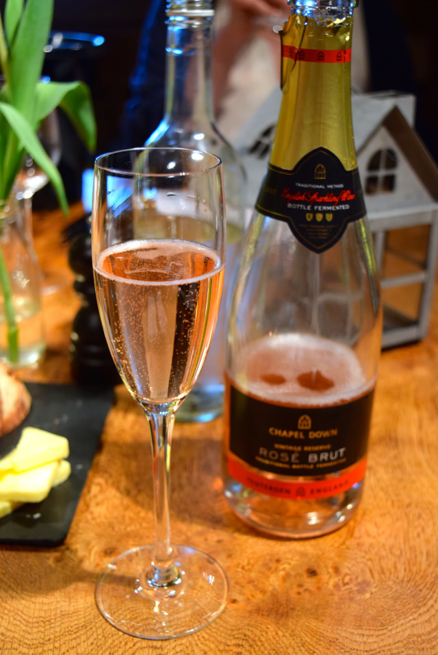 Rose Brut English Sparkling Wine at Chapel Down | www.rachelphipps.com @rachelphipps