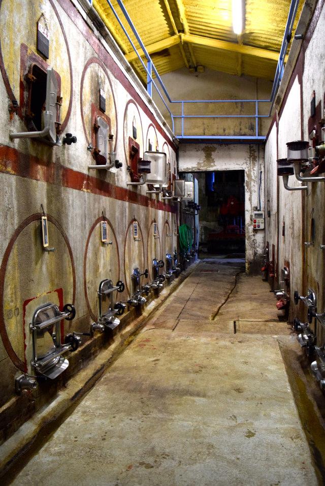 Old Wine Vats at Chateau Panniseau | www.rachelphipps.com @rachelphipps
