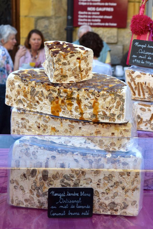 Caramel Nougat at Sarlat Market | www.rachelphipps.com @rachelphipps